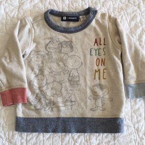 Baby Gap + PEANUTS Pullover Sweatshirt